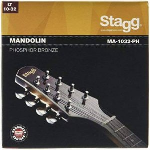 Stagg Phosphor Bronze Mandolin Light de la marque Stagg image 0 produit